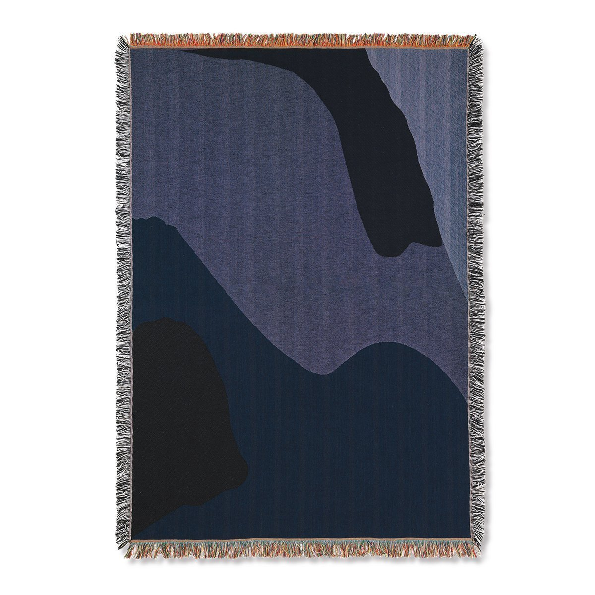 Ferm Living Vista Deken - Dark Blue