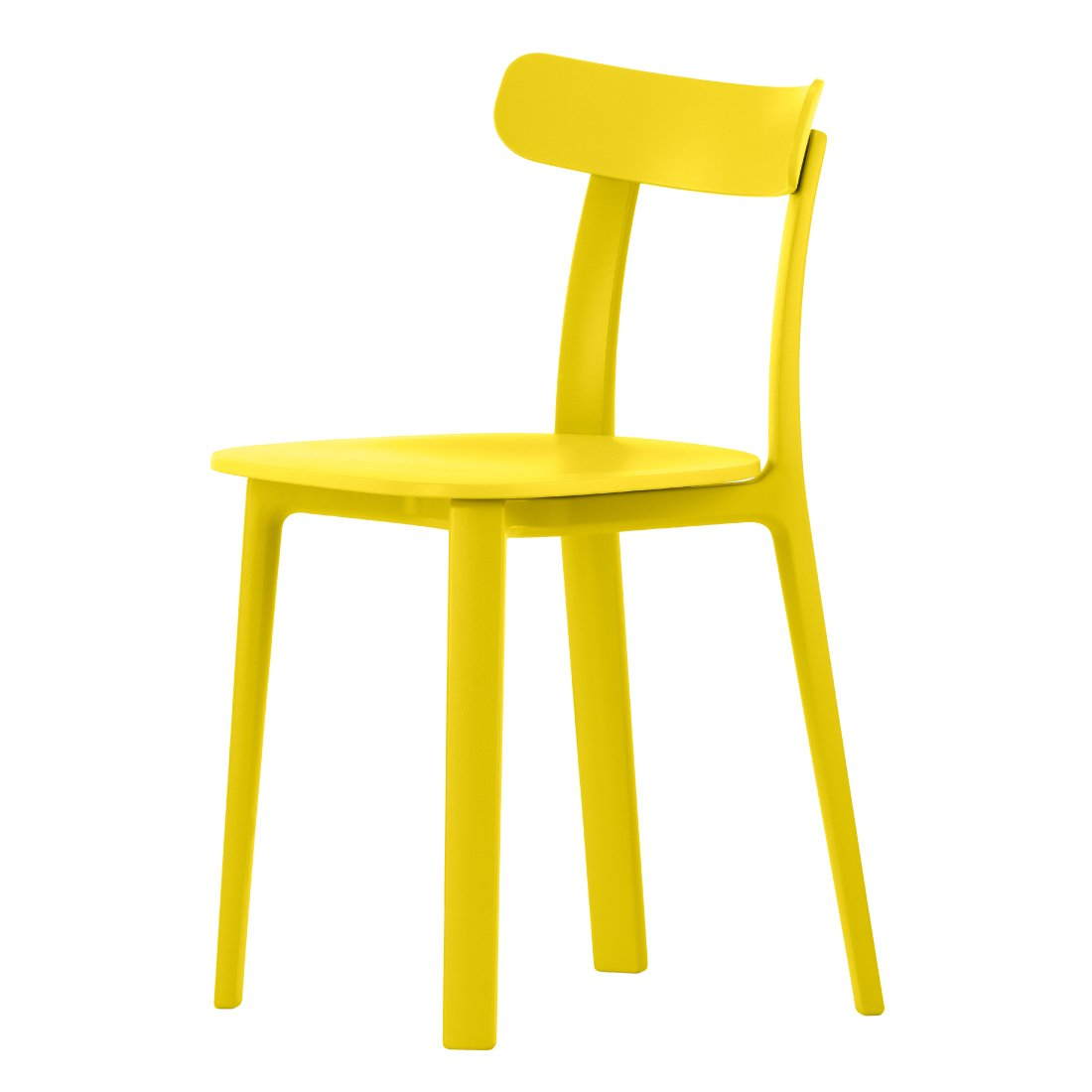 Vitra All Plastic Stoel Buttercup