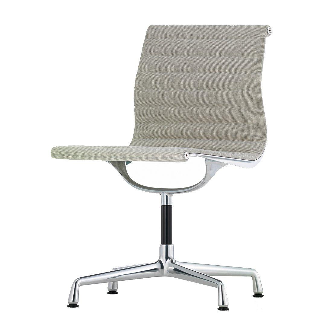 Vitra Aluminium Chair EA 101 - Hopsak Warmgrijs/Ivoor