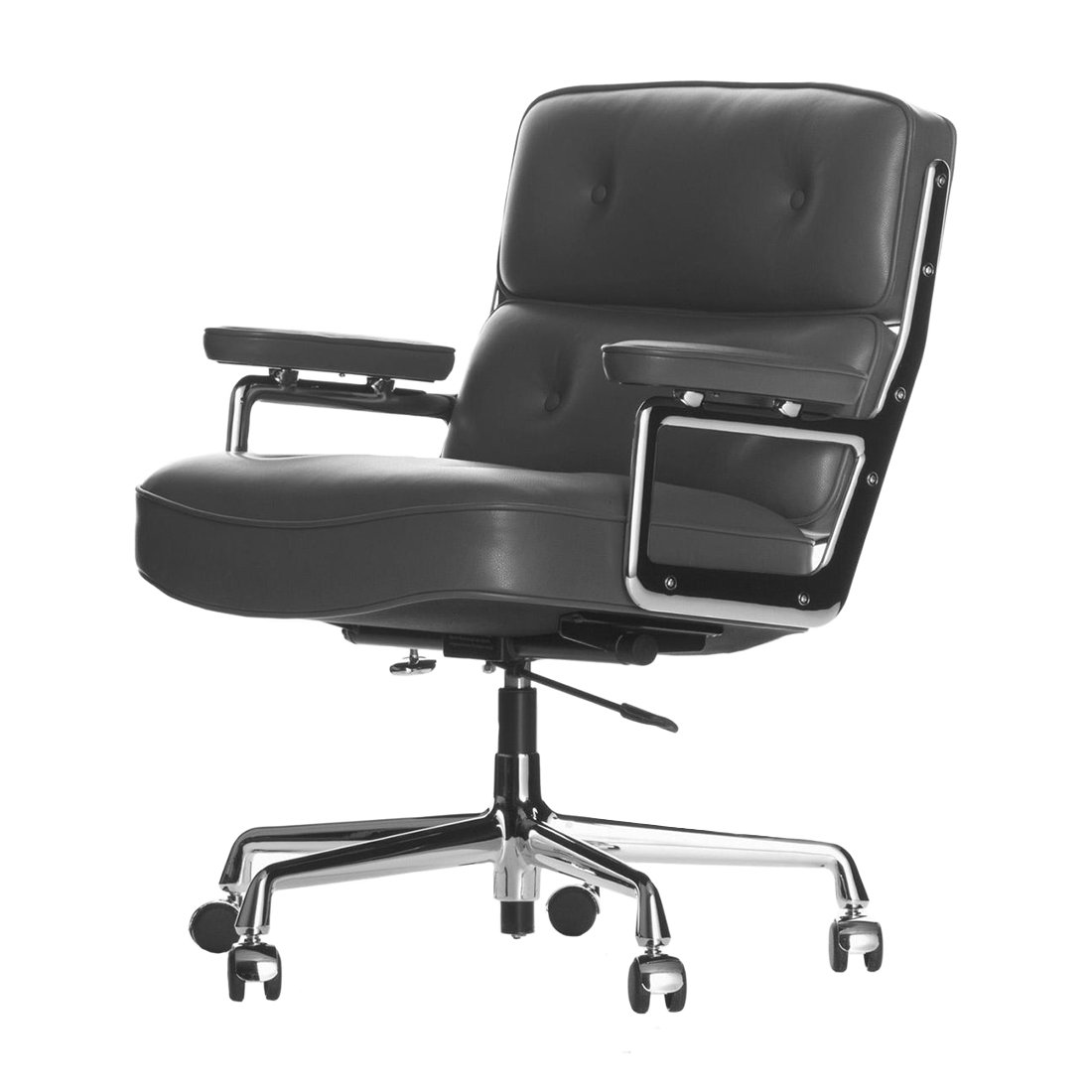 Vitra Lobby Chair ES 104 Bureaustoel Asfalt