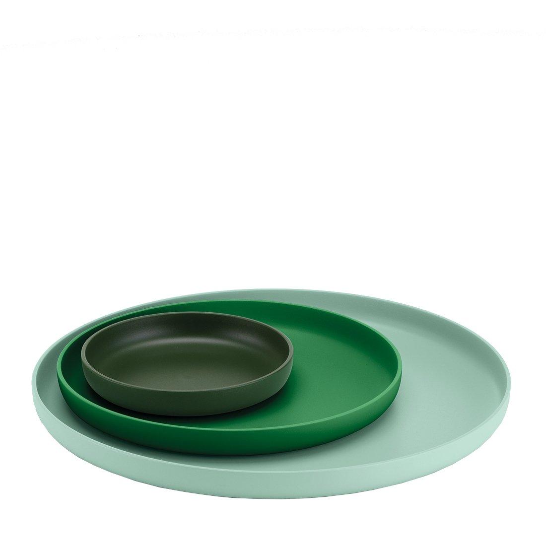 Vitra Trays, Set van 3 - Groen