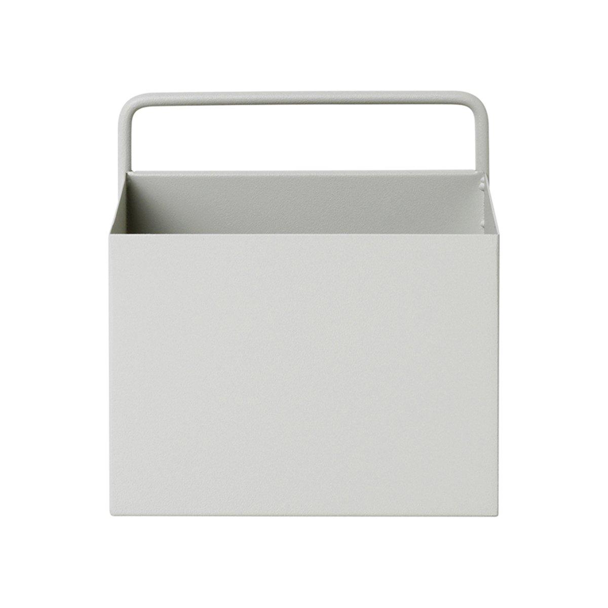 Ferm Living Wall Box Vierkant - Lichtgrijs