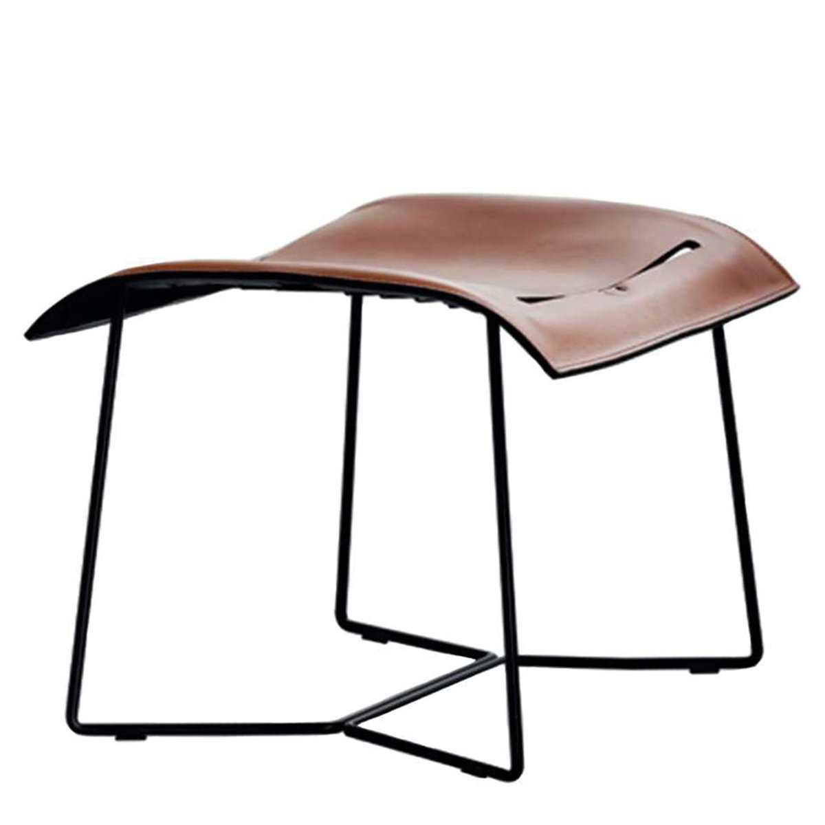 Walter Knoll Cuoio Voetenbank Leather Saddle
