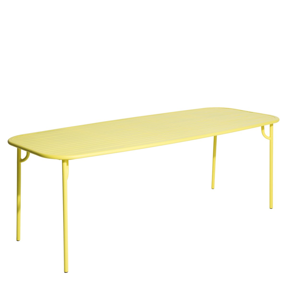Petite Friture Week-end Eettafel Rechthoek - Large/Yellow