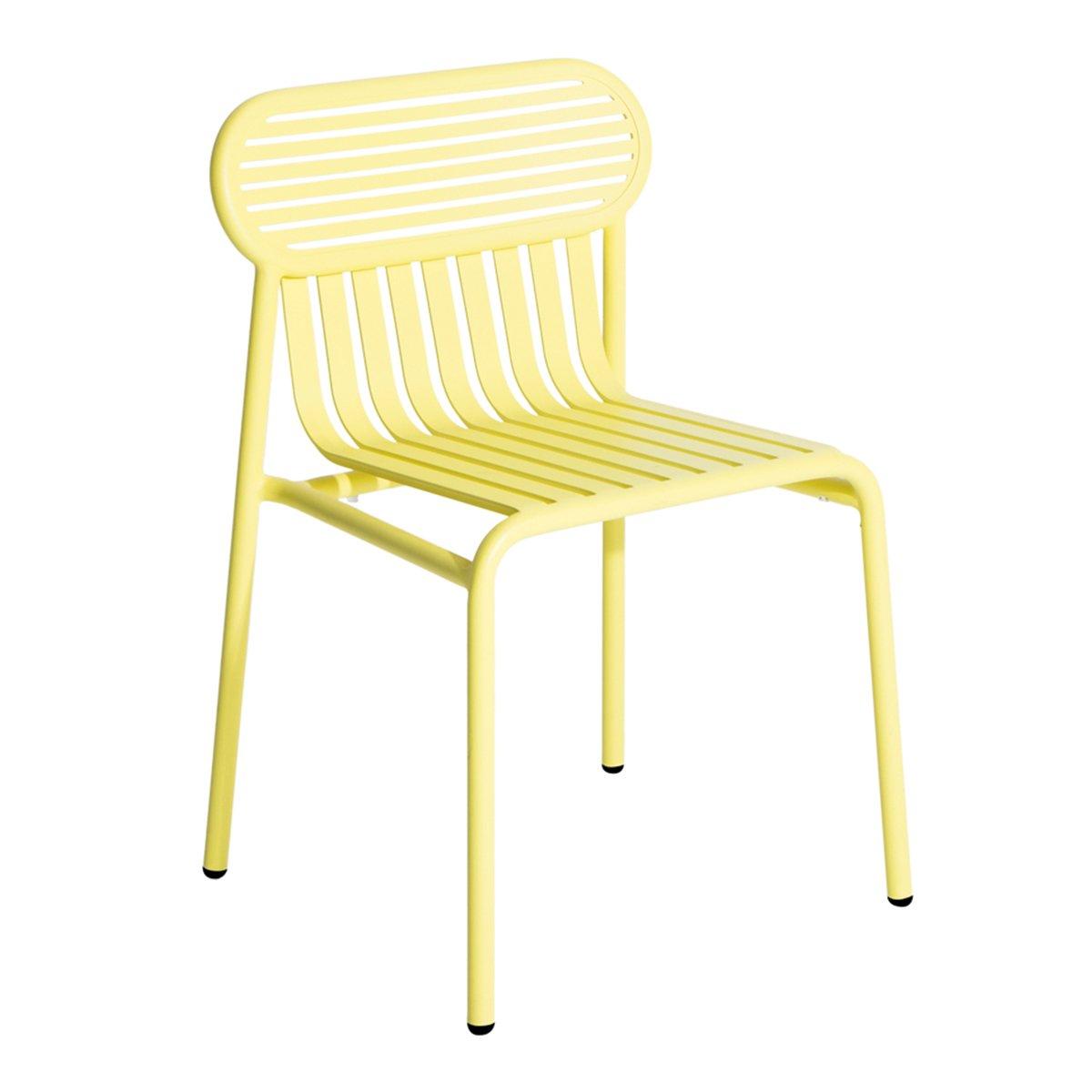 Petite Friture Week-end Stoel Zonder Armleuning - Yellow