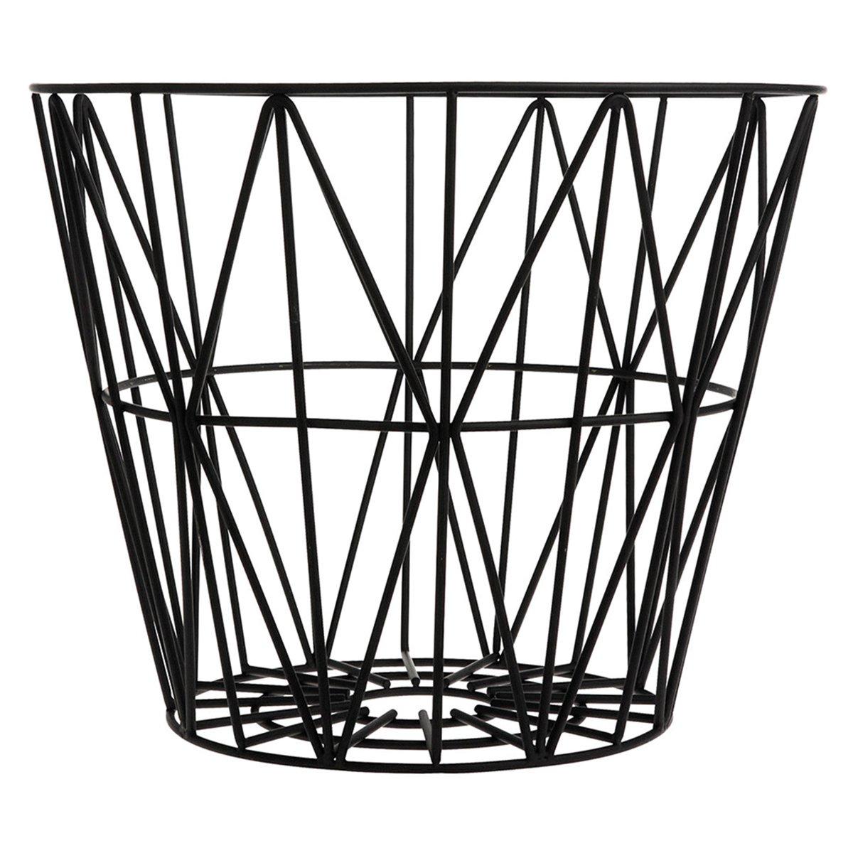 Ferm Living Wire Basket Mand Zwart