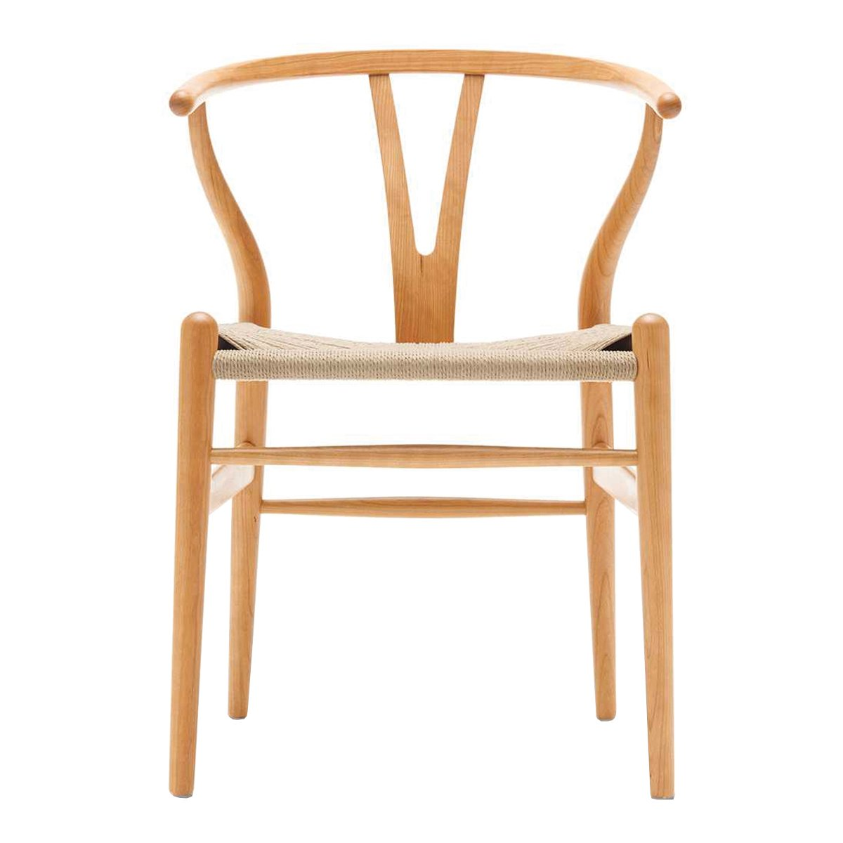 Carl Hansen Wishbone Chair Kersen Geolied - Naturel