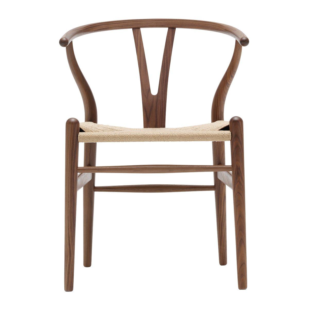 Carl Hansen Wishbone Chair Walnoot Geolied - Naturel