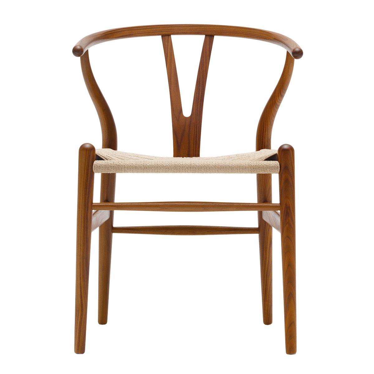 Carl Hansen Wishbone Chair Walnoot Gelakt - Naturel