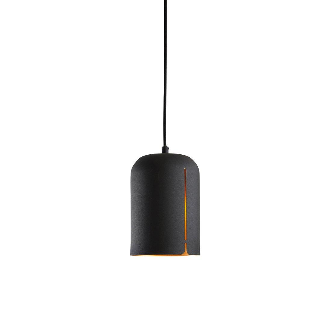 WOUD Gap Short Hanglamp Zwart