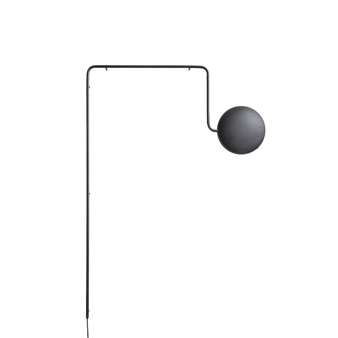 WOUD Mercury Wandlamp - Zwart