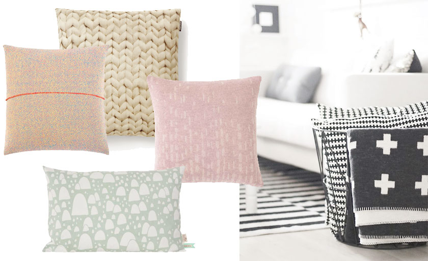 Interior: home to be pillow overload love life love fashion
