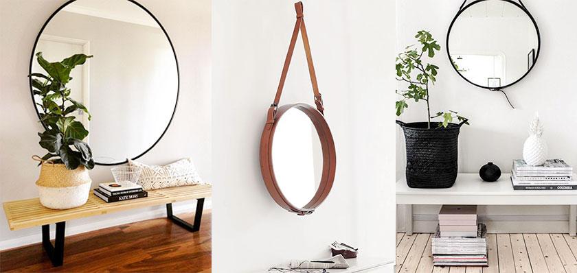 MisterDesign, Gastblog Aurélie, Ronde design spiegels