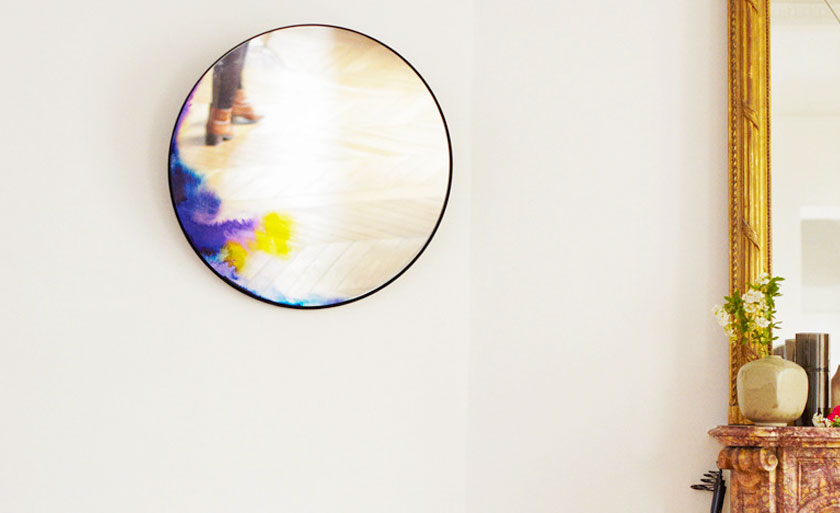 Interieur inspiratie ronde design spiegels misterdesign