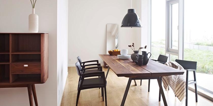 Hoe onderhoud je houten design tafels