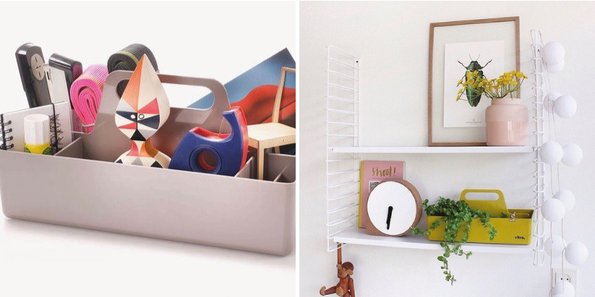 Design Opberger: Toolbox van Vitra