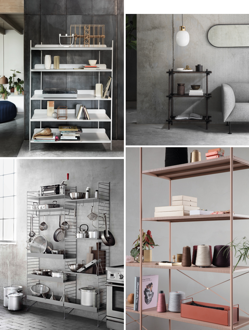 Interieurtrend 2017: Shelving System