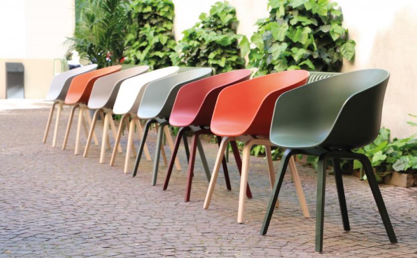 Nieuwe kleuren aac stoel van hay misterdesign