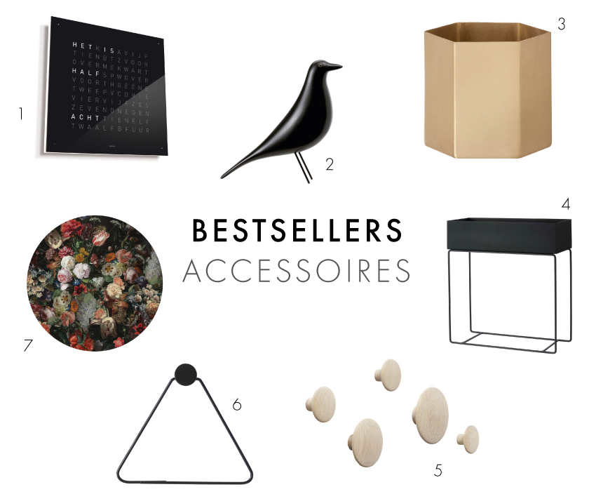 Design Accessoires - Bestsellers 2016