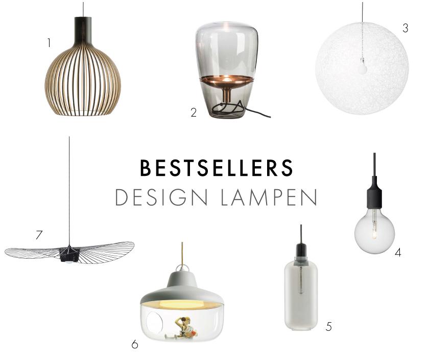 Bestsellers Design Lampen 2016