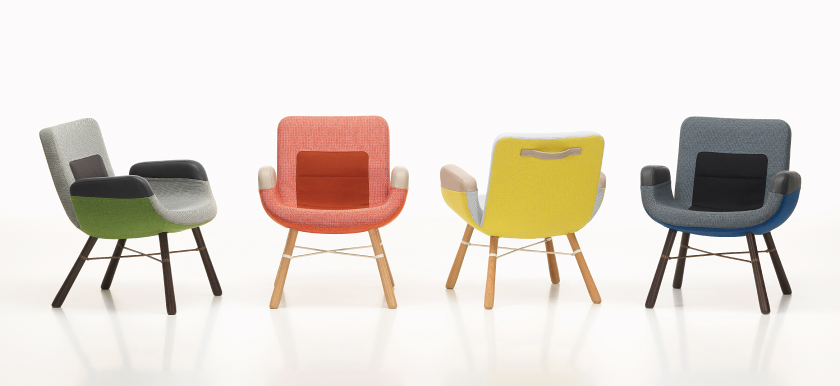 East River Chairs, Hella Jongerius voor Vitra