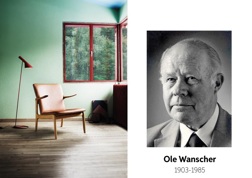 Ole Wanscher voor Carl Hansen