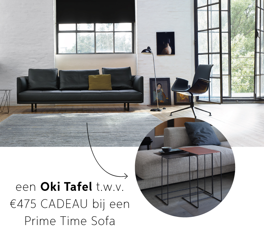 Prime Time Sofa Walter Knoll
