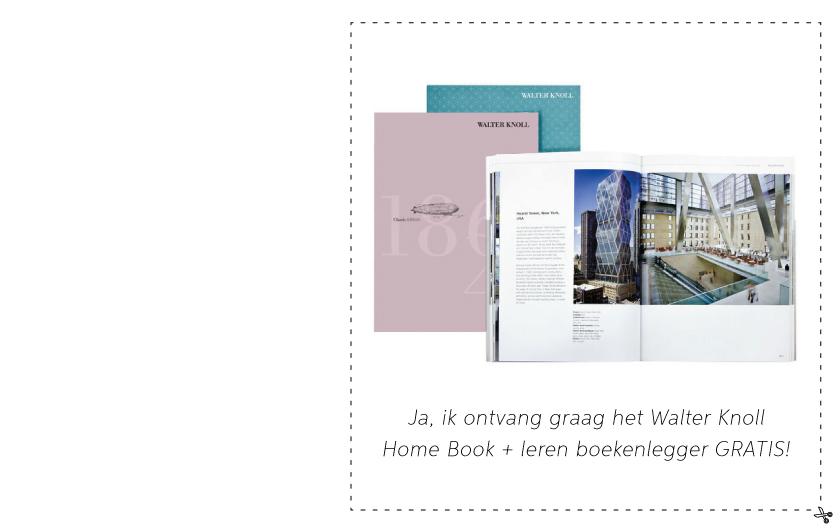Voucher - Walter Knoll bij MisterDesign