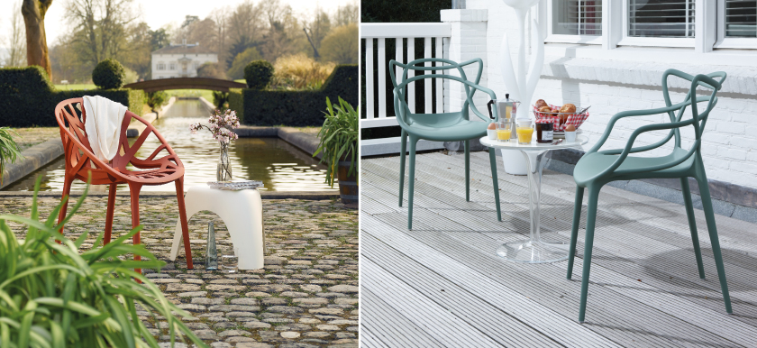 MisterDesign, Outdoor, Outdoor Design, Design Tuinmeubels, Kartell, Vitra, Knoll, Functionals