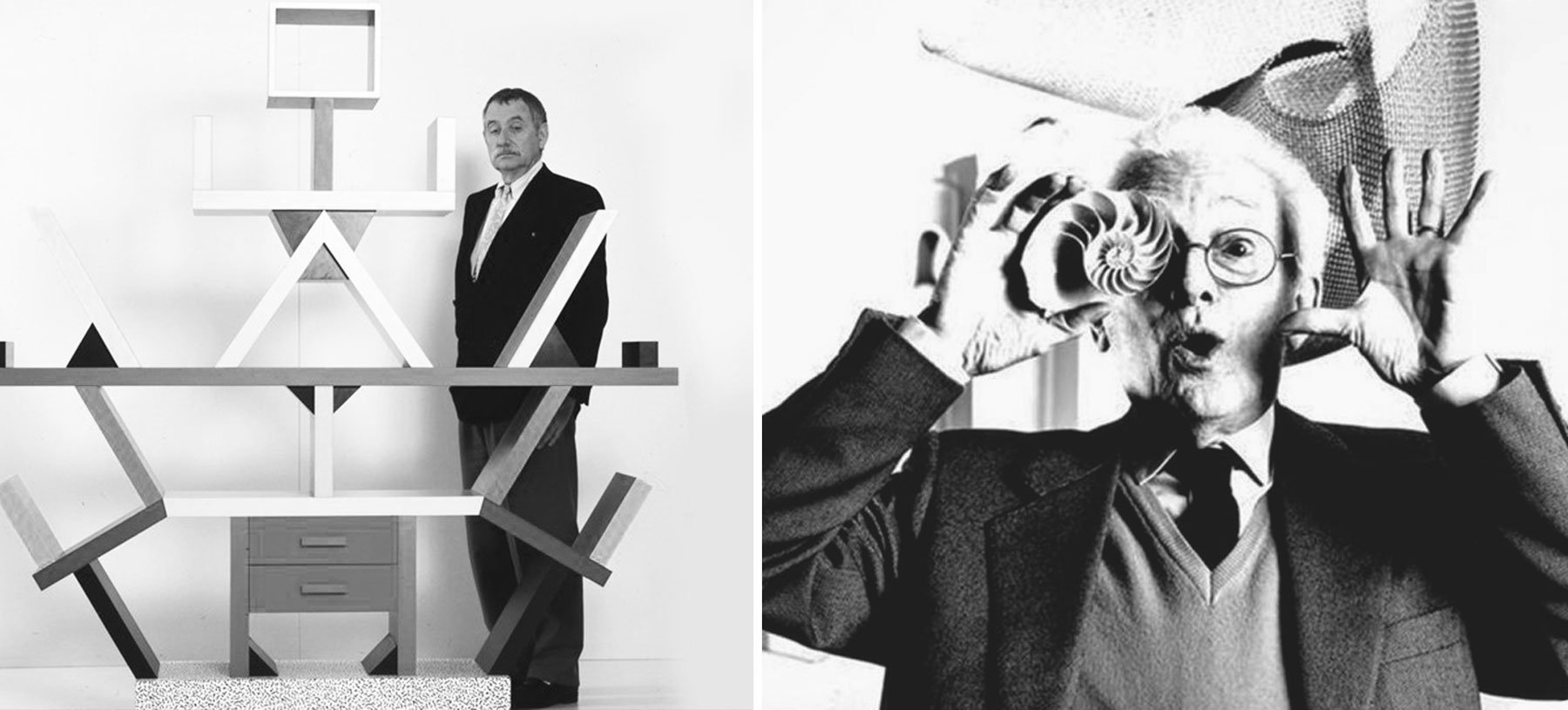 Ettore Sottsass en Bruno Munari