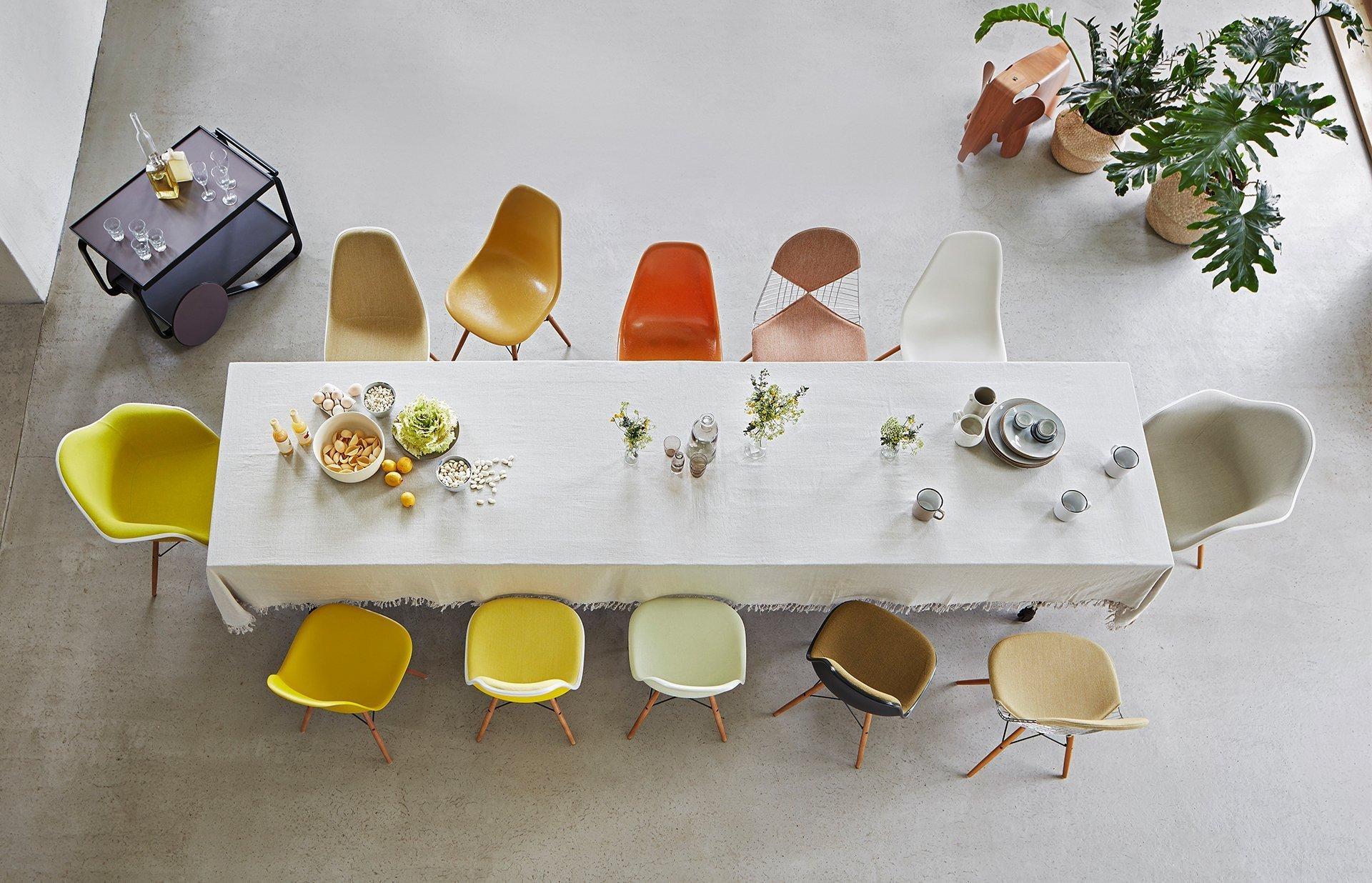 Vitra Eames Plastic en Fiber Chair