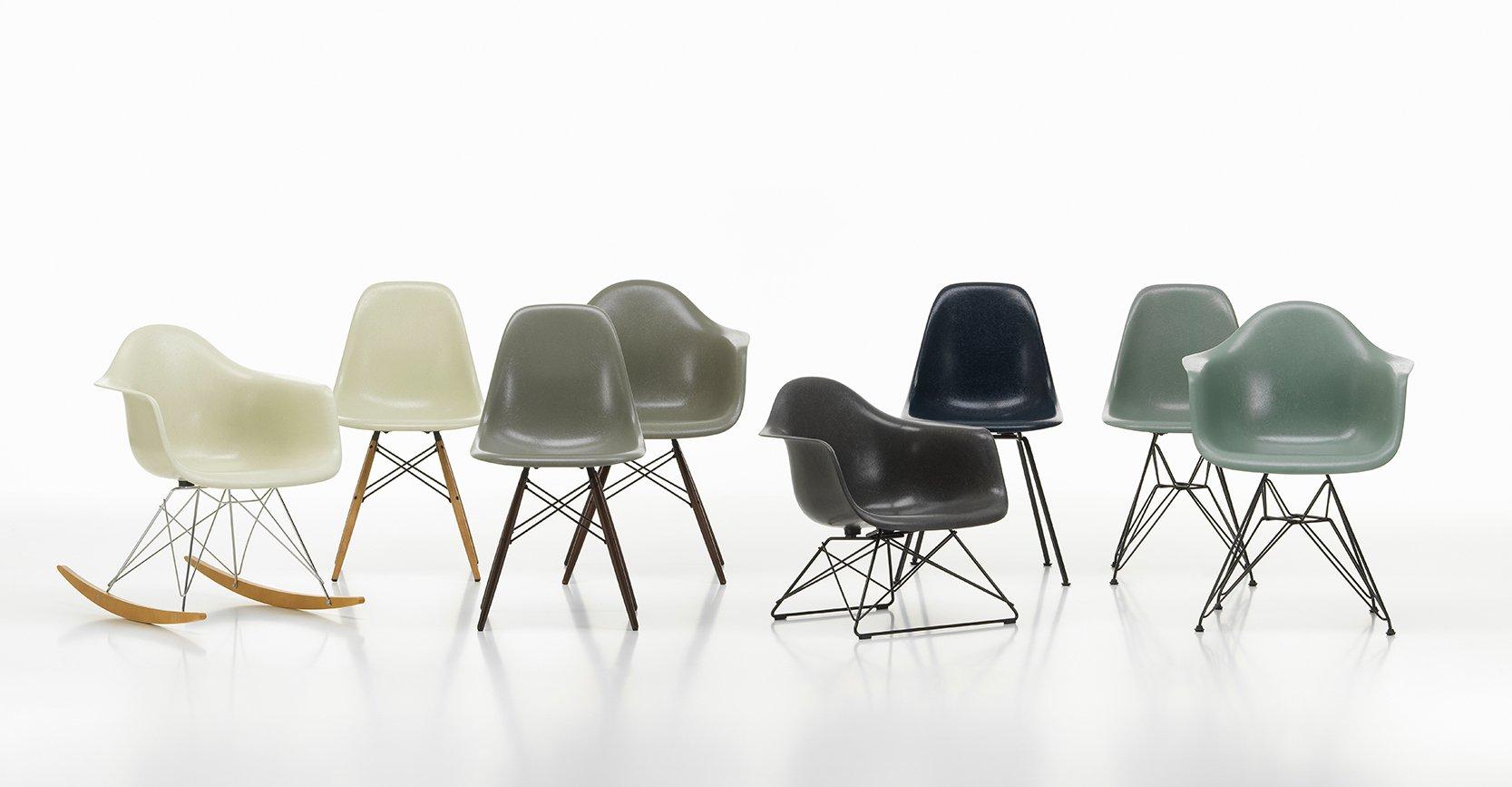 Eames Plastic en Fiber Chair overzicht