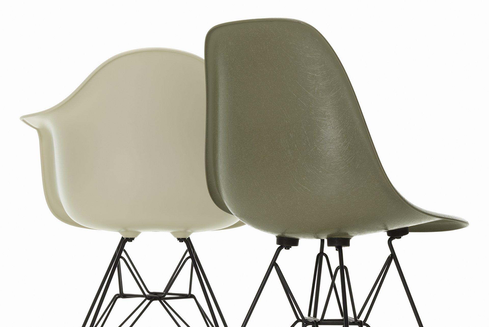 Eames Fiber Chair Detail