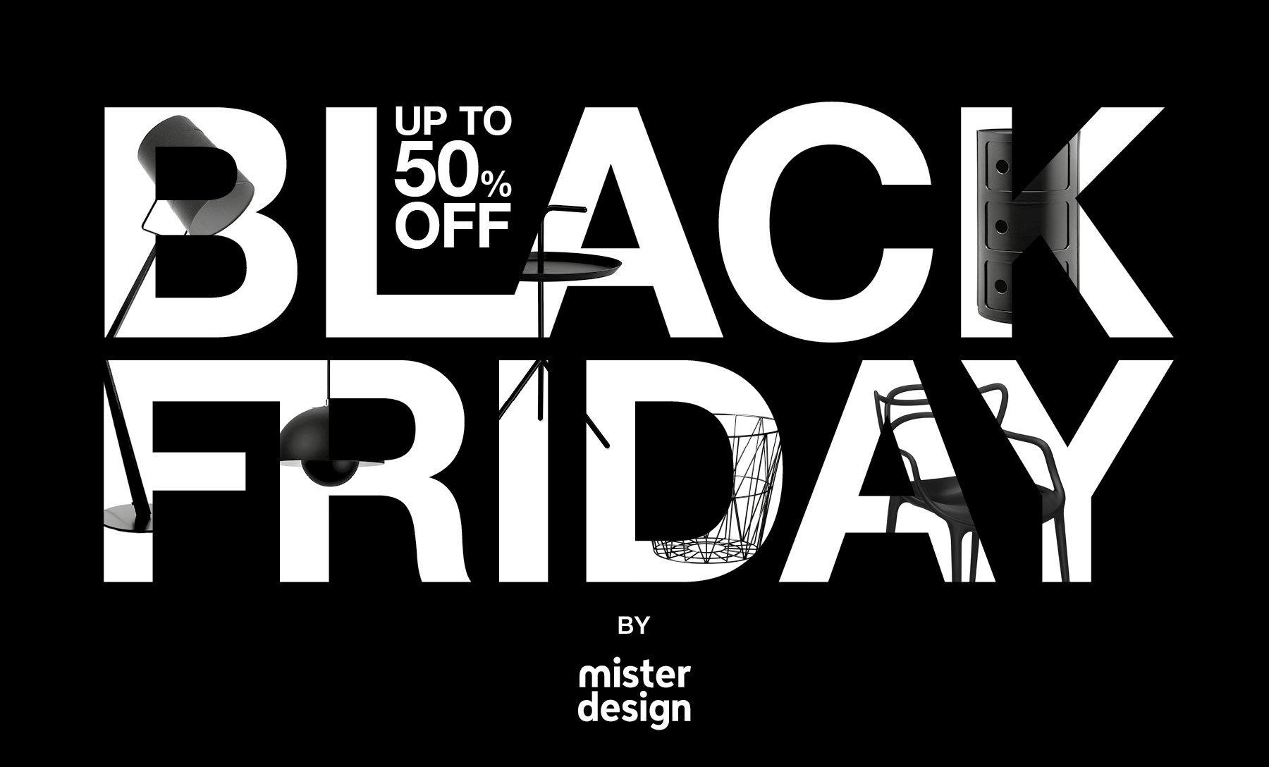 MisterDesign Black Friday Campagne