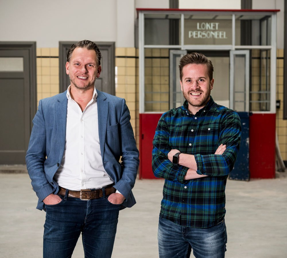 Marco van Rosmalen en René Nielen MisterDesign
