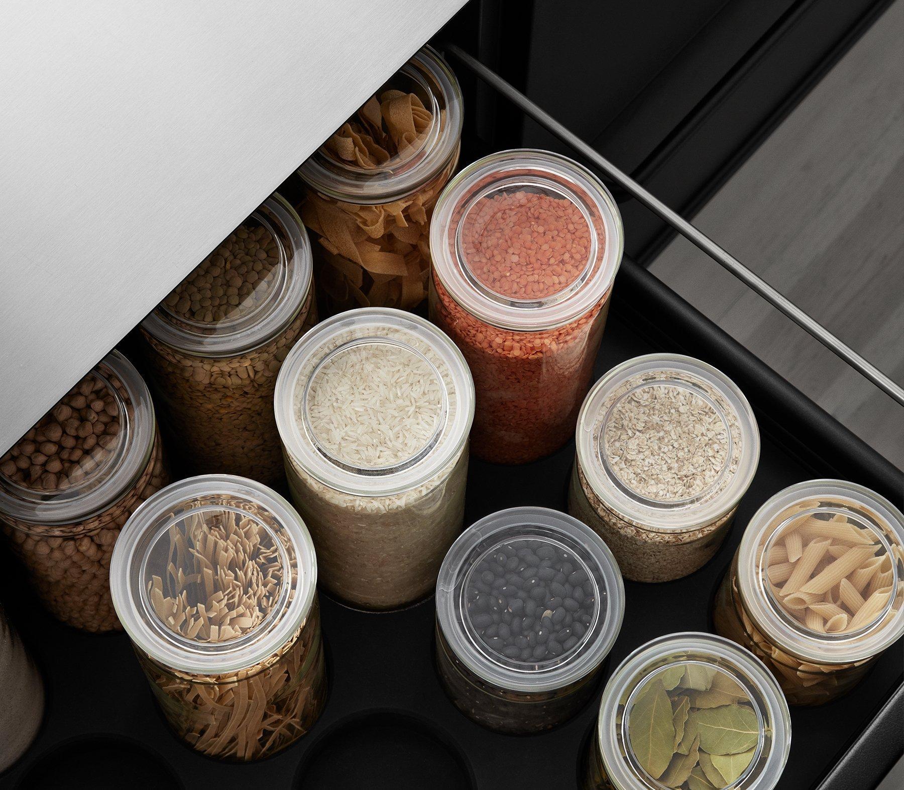 Design in de keuken - Vipp Voorraadpot
