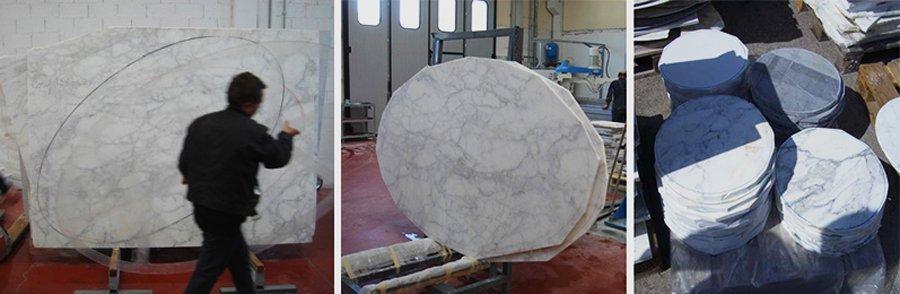 Knoll marmer productie