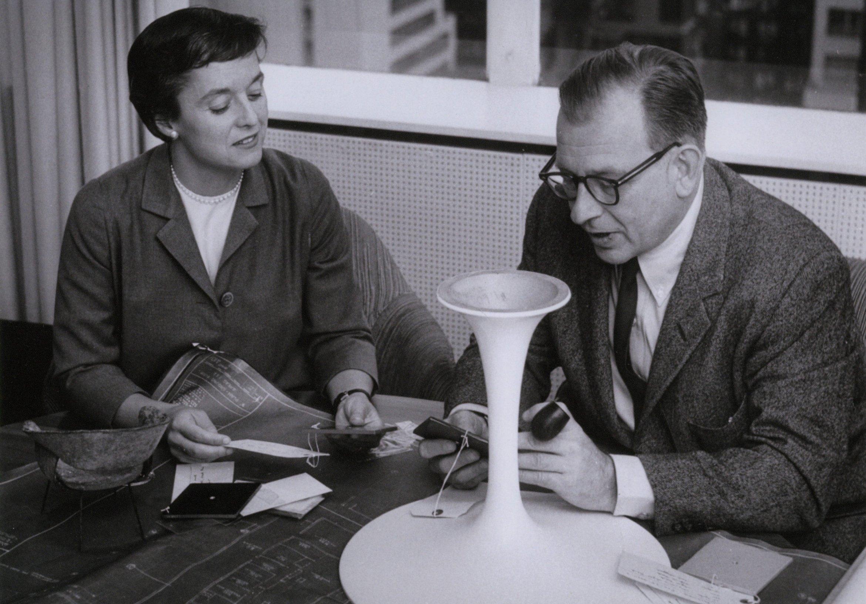 Eero Saarinen en Florence Knoll