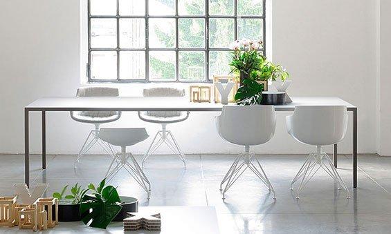 rechthoekige tafels
